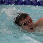 Swimmers Earn First Win of the Season