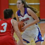 Girls Varsity Basketball falls to Owen Valley 50 – 36