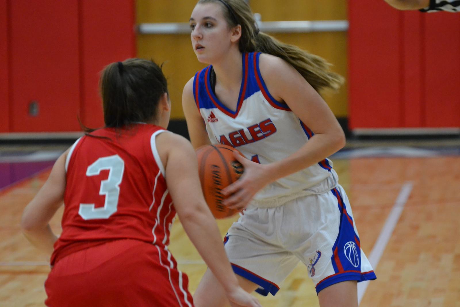 Girls Varsity Basketball falls to Owen Valley 50 – 36