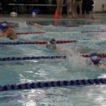 Boys' Swim Team Wins, Girls Fall to Cadets
