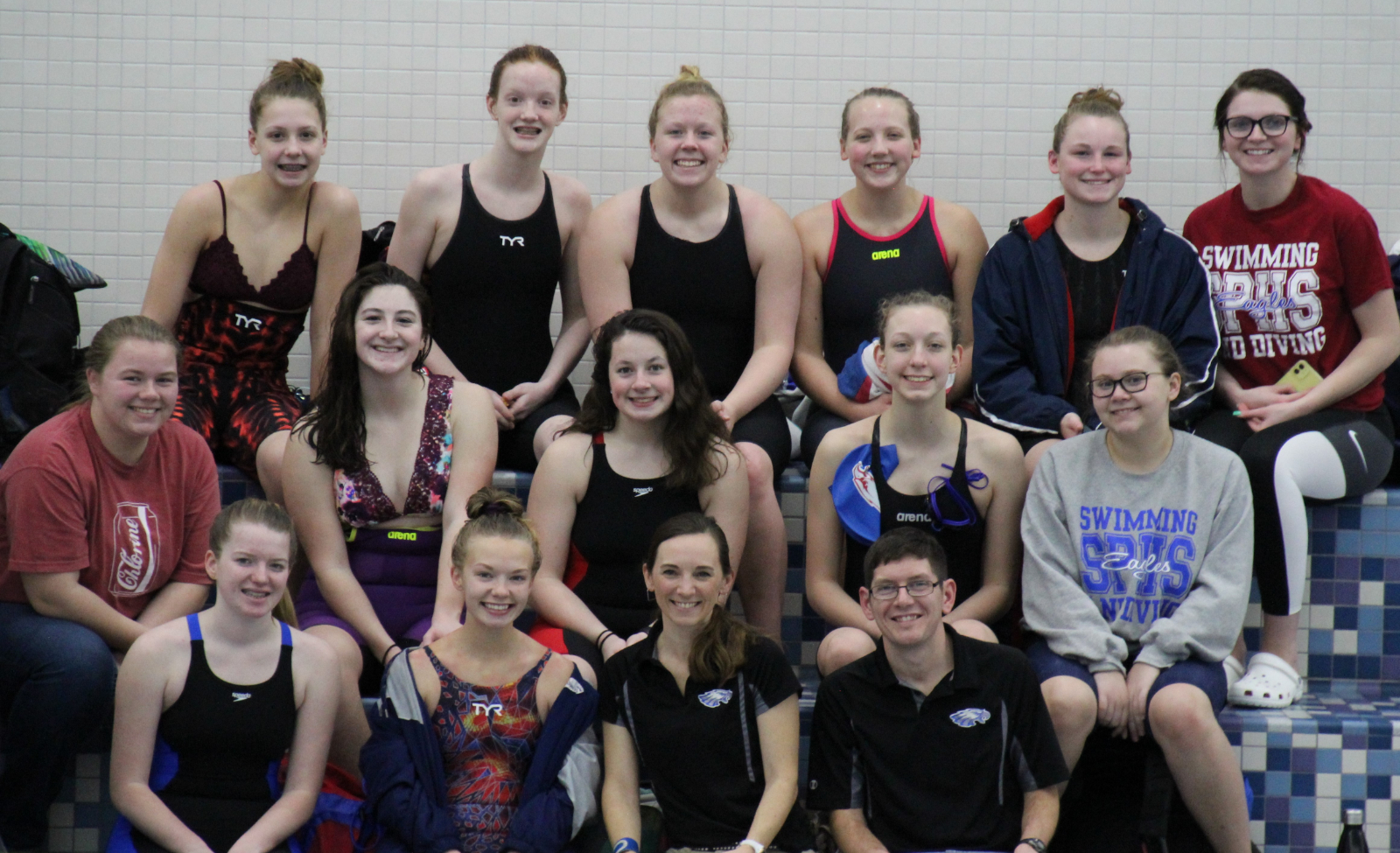 Girls Swim Sectional Results