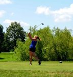 Eagles' Golfers Compete with Cloverdale
