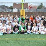 Girls Soccer at Byers