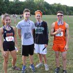 Girls and Boys Cross Country teams run at Trinity