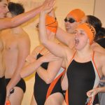Swimming Victories and Records over break!