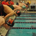 Swimming District Results for boys and girls