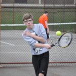 Tennis match reschedule with Garfield Heights