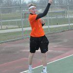 Tennis start time