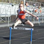Normandy track team runs at the GLC Championships