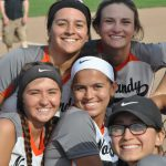 Softball team advances