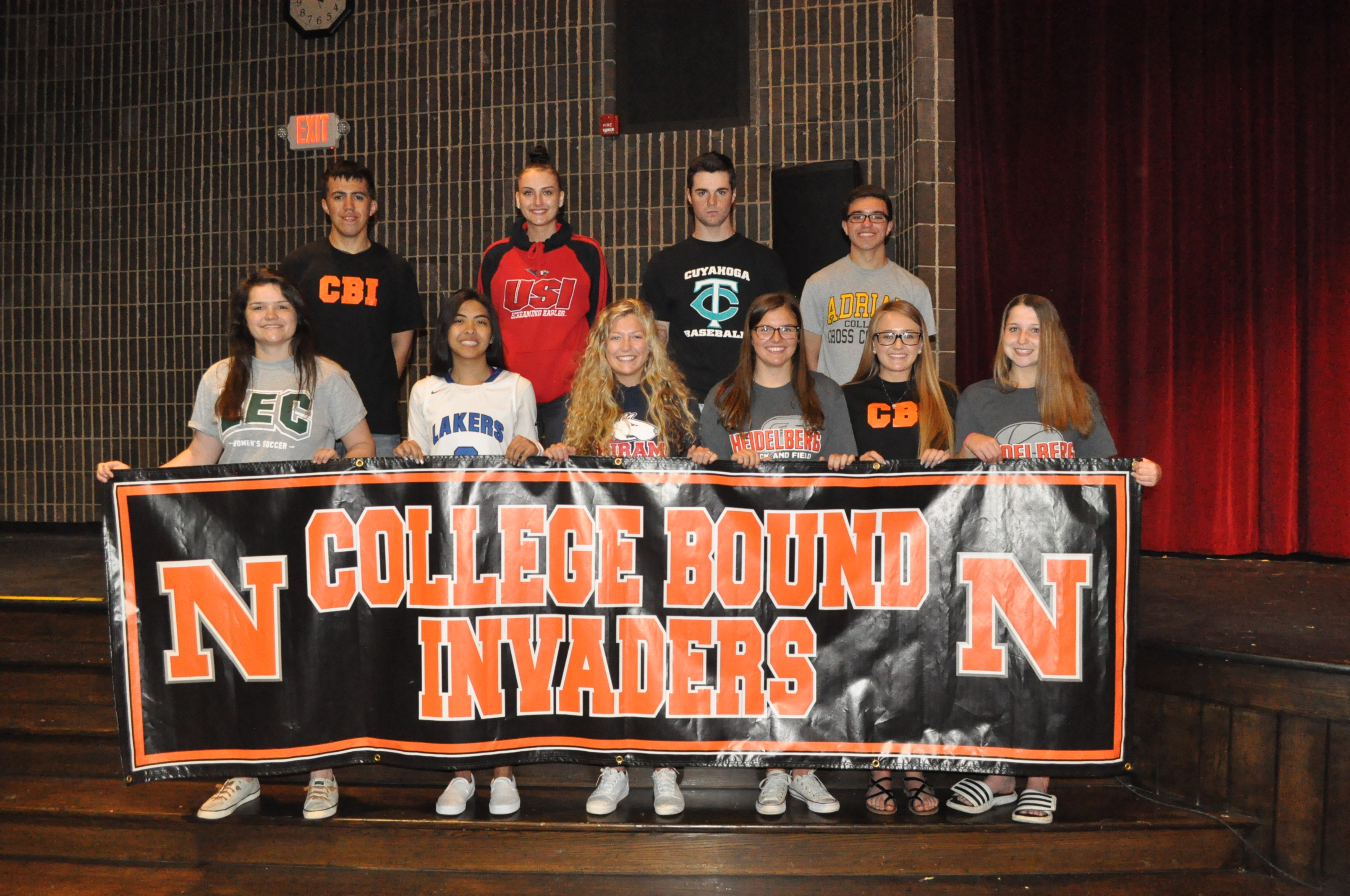 College Bound Invaders!