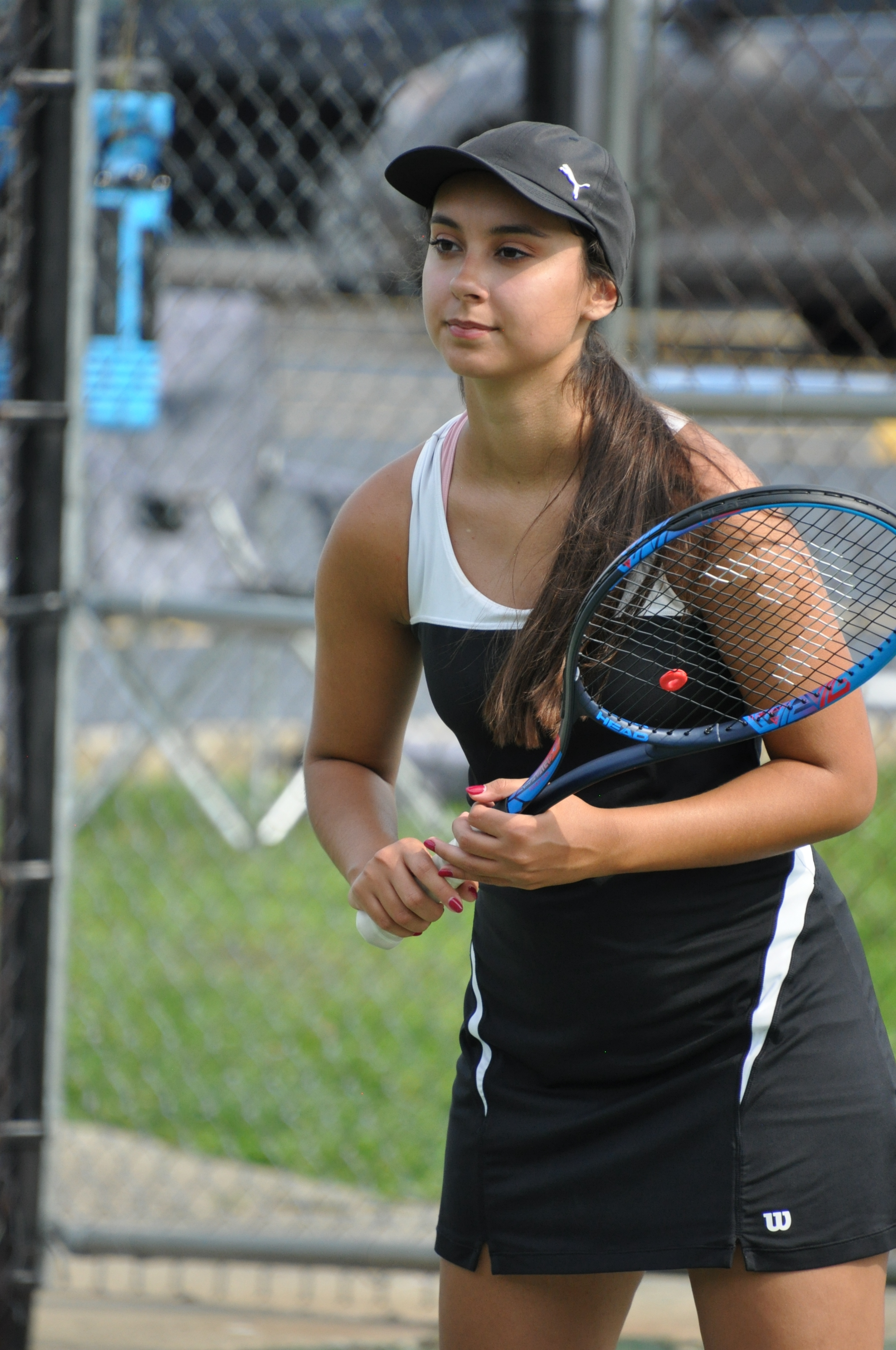 Girls tennis back in action
