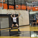Volleyball back in action on Monday