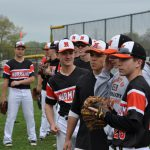 Baseball finishes with another win
