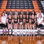 Girls Junior Varsity Volleyball falls to Holy Name 2 – 0