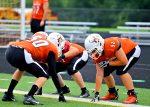 9/10 Varsity Football vs. Holy Name (photos by Crystal Nowak)