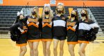 12/11/2020: Varsity Cheerleading vs. Rocky River (Photo Credits: Marc Kirby)