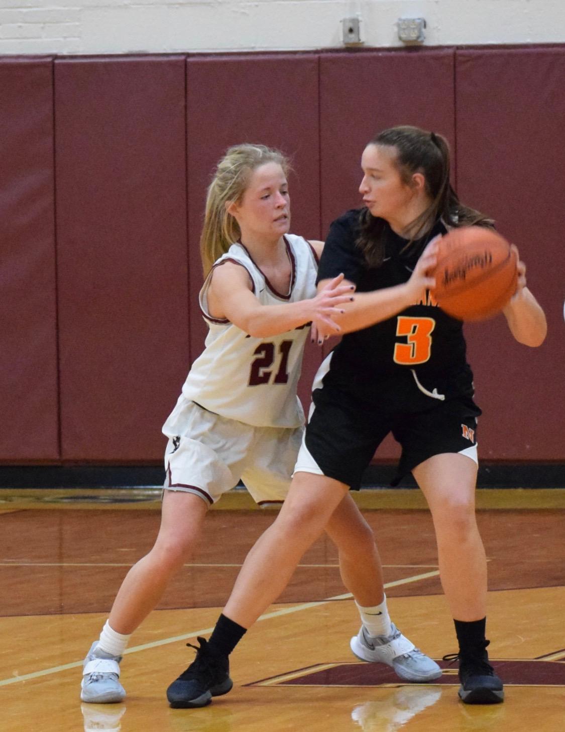 12/12/2020: Girls Varsity Basketball at Rocky River (Photo Credits: Dwayne Kessie)