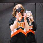 1/5/2021 Varsity Cheerleading vs. Elyria Catholic (Photo Credits: Marc Kirby)