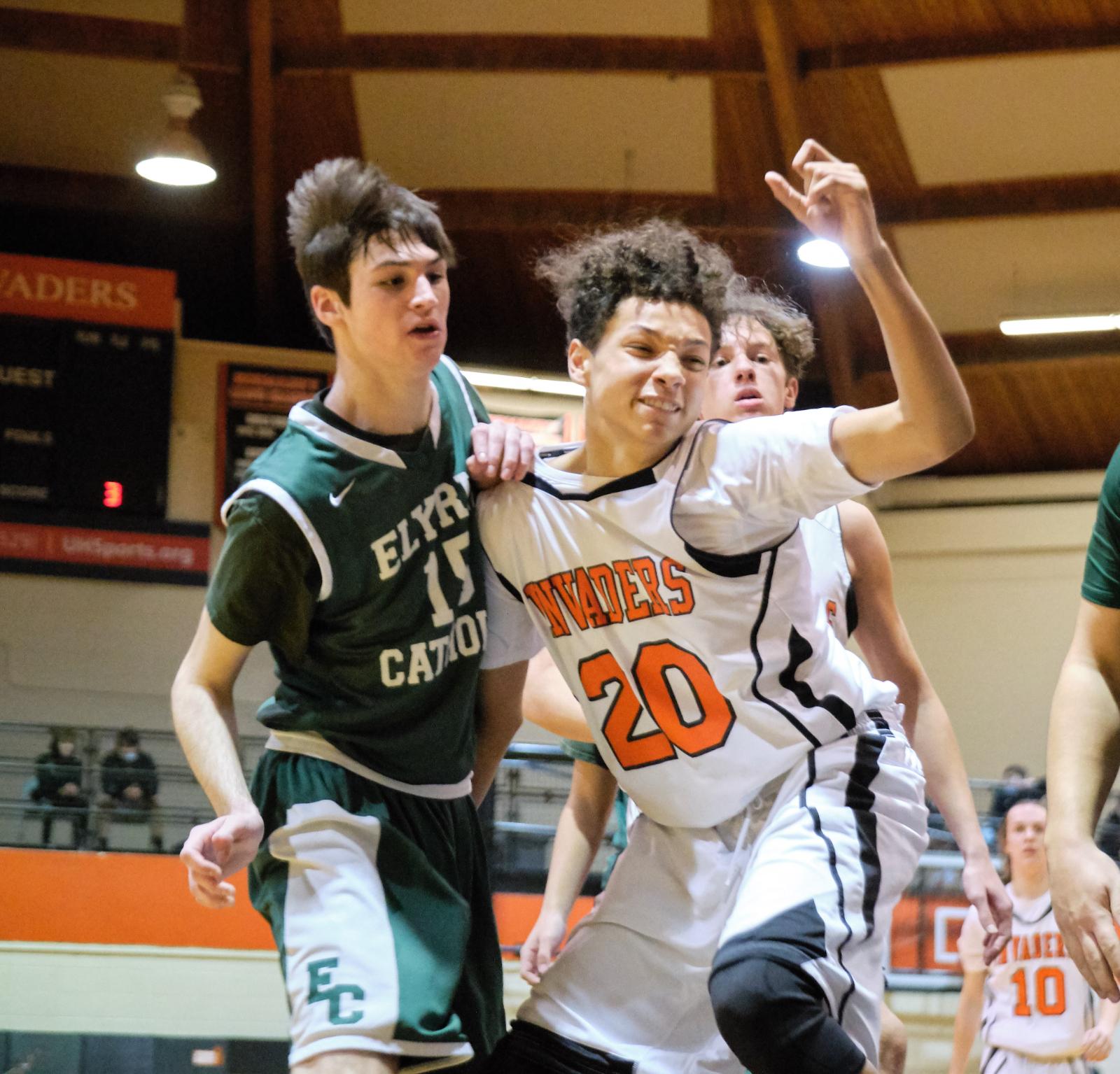 1/5/2021: Freshman & JV Boys Basketball vs. E.C. (Photo Credits: Marc Kirby)
