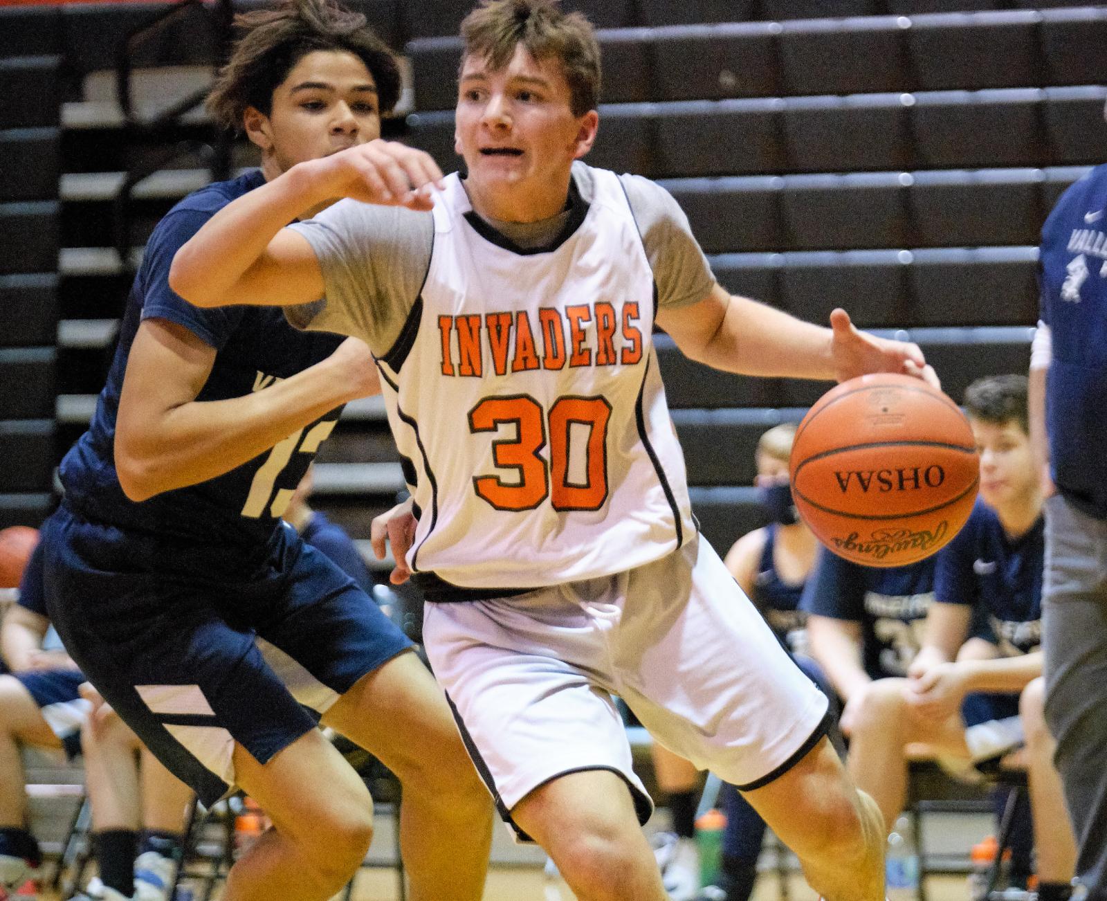 1/22/2021: Freshman Basketball vs. V.F. (Photo Credits: Marc Kirby)