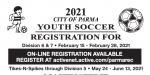 Parma Recreation Soccer League Registration