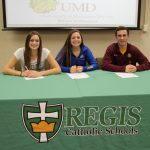Regis athletes sign National Letters of Intent