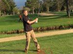 Sandberg Earns Medalist Honors at Boys Golf Cloverbelt Conference in Osseo