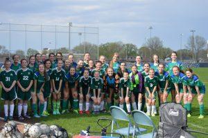 RHS & RMS Girls Soccer Teams (May 2016)