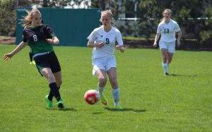 Girls Soccer vs. Rhinelander (May 7, 2016)