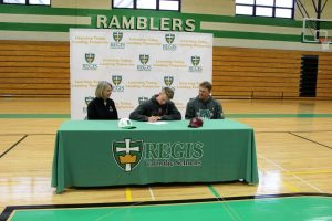 Paul Petit Signing Day (Baseball)
