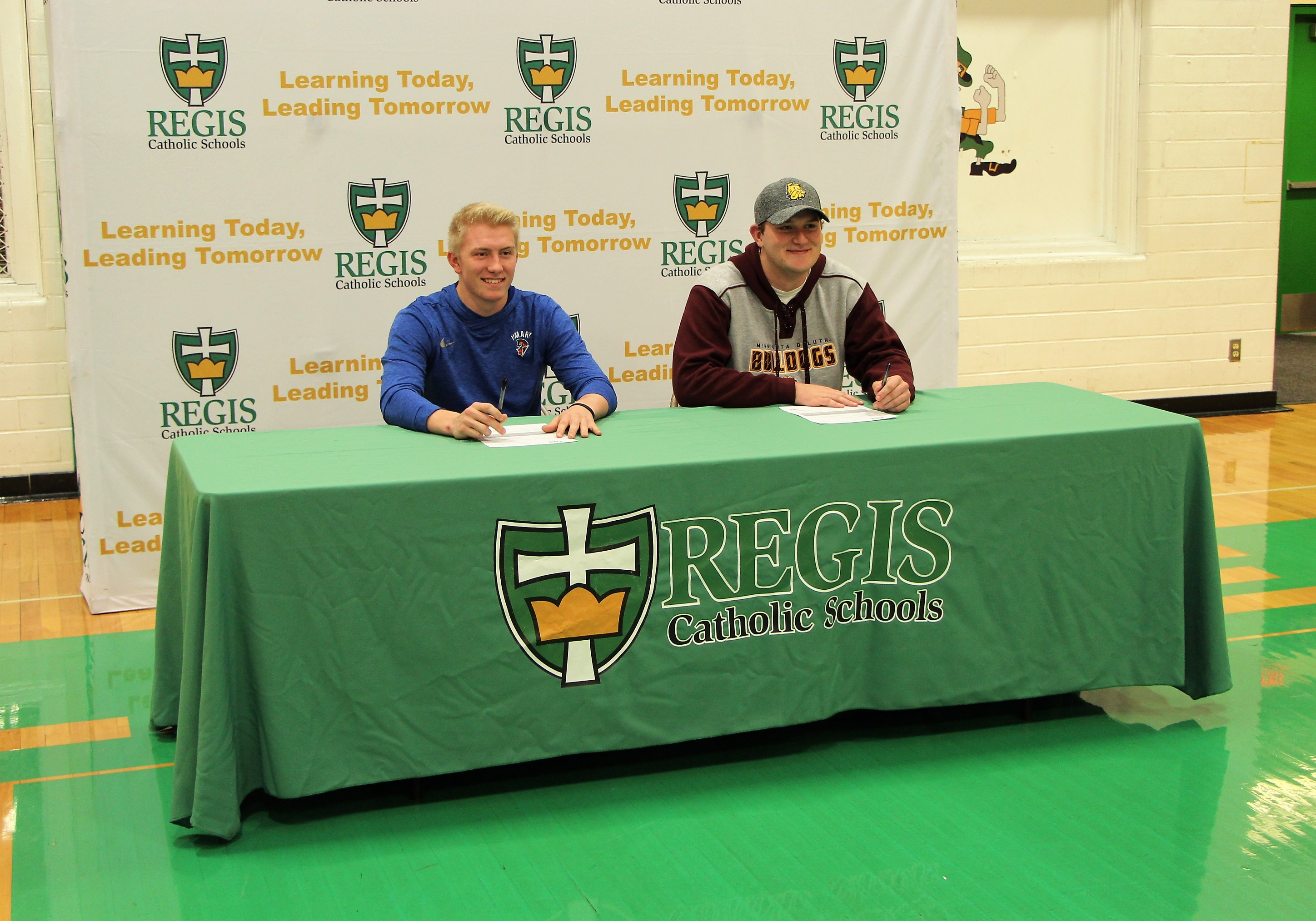 Regis High School Athletes Sign Letters of Intent
