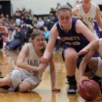 Valley Center High School Girls Varsity Basketball falls to Newton High School 51-40