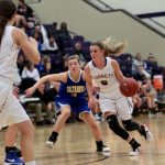 Valley Center High School Girls Varsity Basketball beat Hutchinson High School 49-33