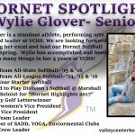Hornet Spotlight: Wylie Glover