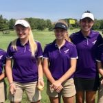 JV Golf finishes 2nd at Derby- 3 players in top 7