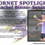 Hornet Spotlight: Rachel Binau