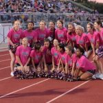 Home and Away; Cheerleaders Keep Spirit Up