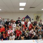 VCHS Drama Club and Intermediate School Collaborate on Haunted House