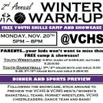 Winter Warm-Up Basketball Camp and Youth Wrestling Showcase