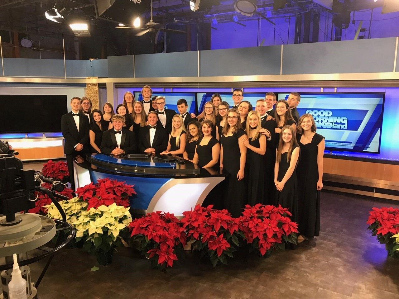 Hornet Choirs Finish Busy Semester