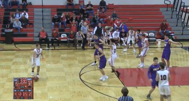 Hornets use defense to dominate Eagles