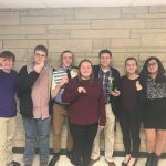Scholars' Bowl Team 1st Place at Bishop Carroll