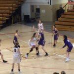 Girls Varsity Basketball beats Marysville 43 – 32