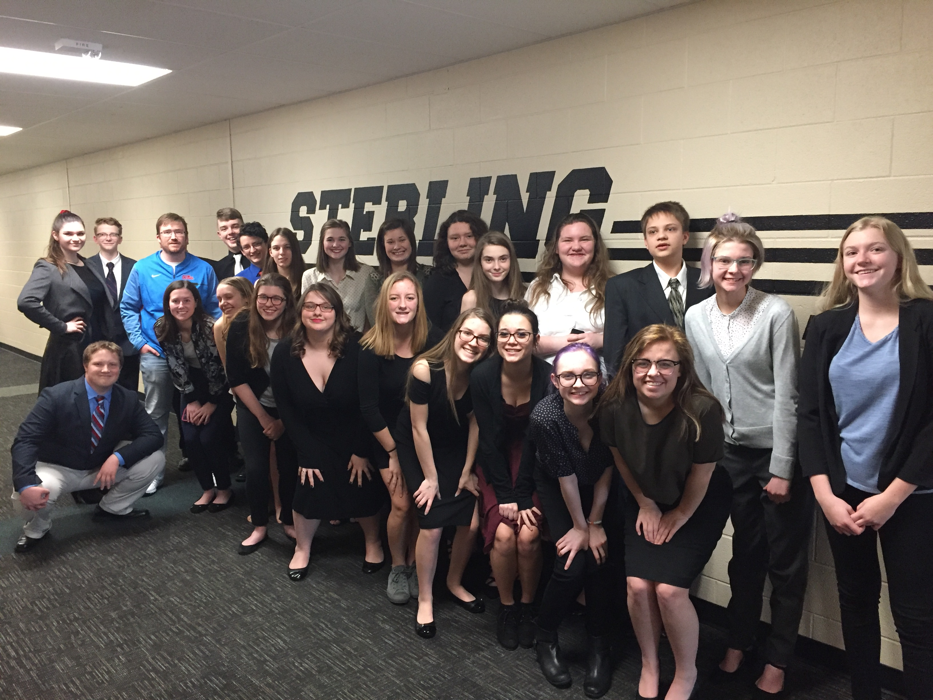 Forensics Team Places 3rd at Sterling