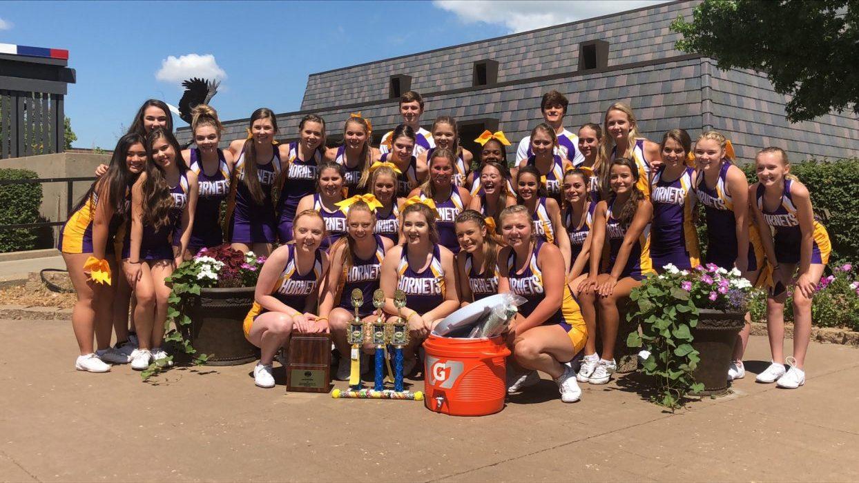 Cheer Team Brings Home Awards