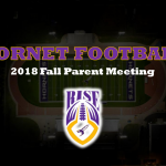 2018 VCHS Hornet Football Parent Meeting Materials