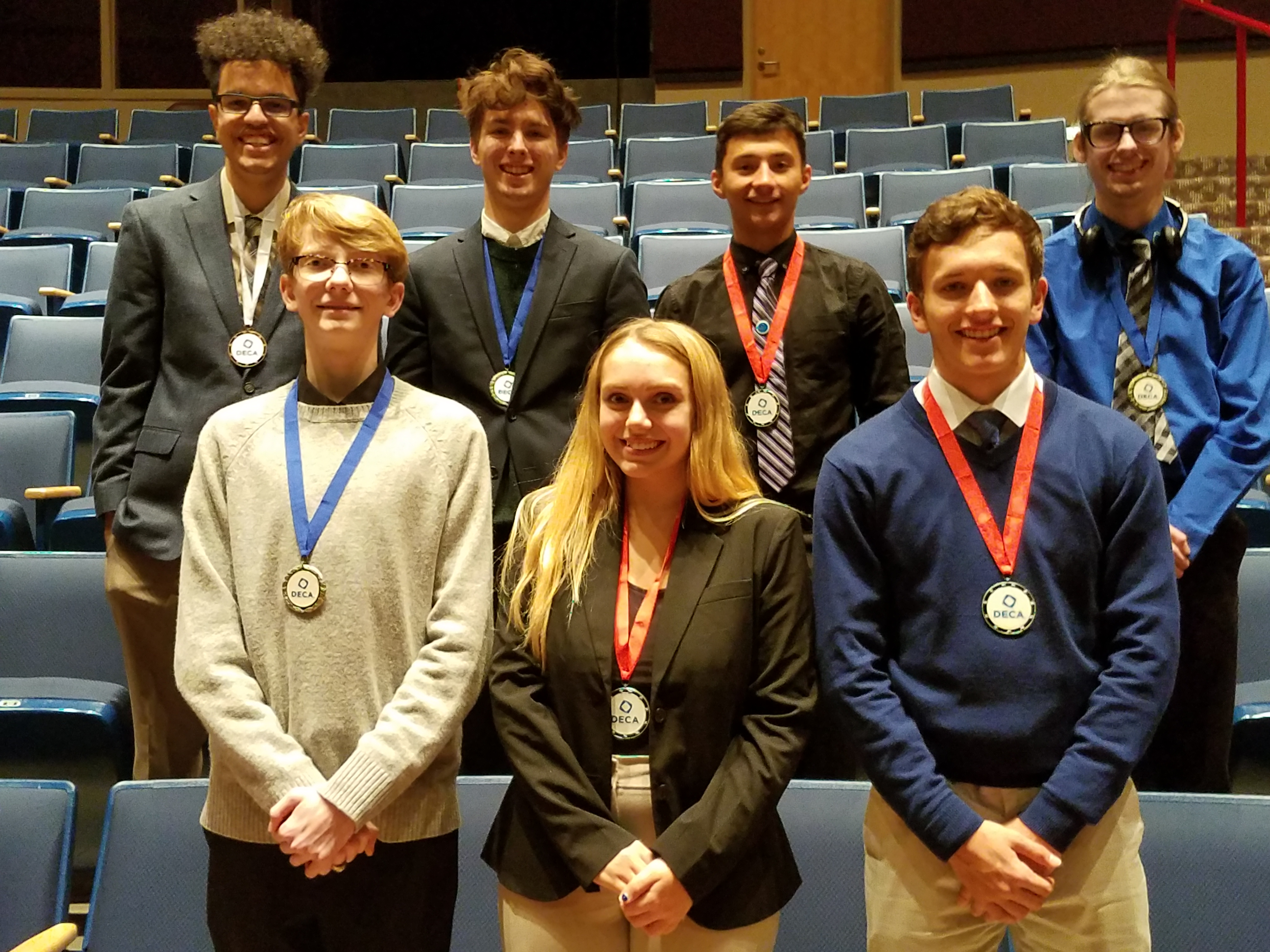 DECA Places 7 at Competition