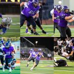 Football Players Represent the Hornets on the All League Team