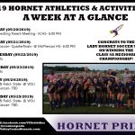 Week at a Glance!